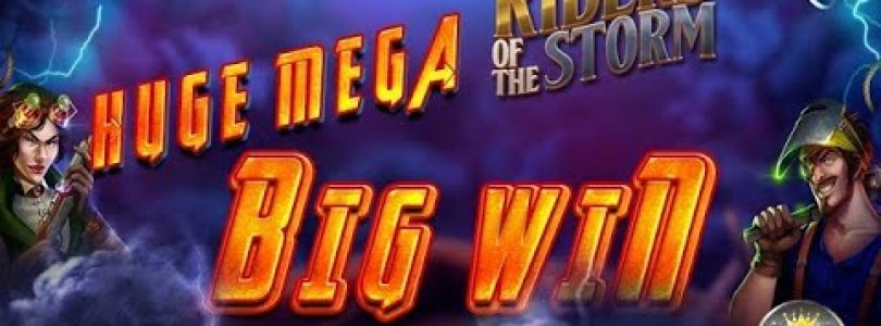 HUGE MEGA BIG WIN BEI RIDERS OF THE STORM (THUNDERKICK) — 5€ EINSATZ!
