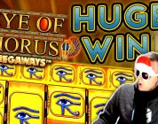 SUPER BIG WIN on Eye of Horus Megaways!!