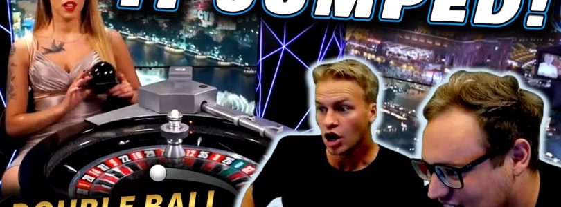 BIG WIN on Live Double Roulette!