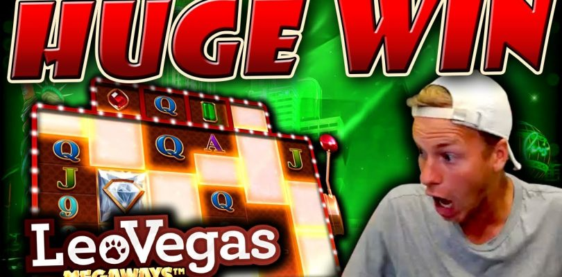 HUGE WIN on LeoVegas Megaways