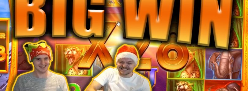 BIG WIN on SAFARI GOLD MEGAWAYS Slot — Casino Stream Big Wins