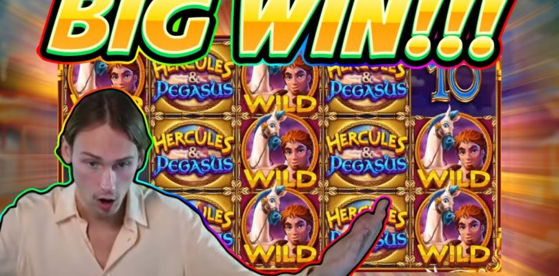 BIG WIN!! Hercules and Pegasus BIG WIN — Slot from Pragmatic — Casino Game from Casinodaddy