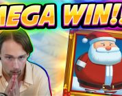 MEGA WIN! Fat Santa Big win — HUGE WIN — Casino Game from Casinodaddy Live Stream