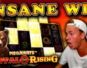 SUPER BIG WIN on Buffalo Rising Megaways!