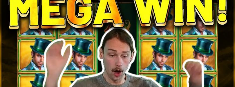 MEGA WIN! Book Of Oz Big win — HUGE WIN — Casino Games from Casinodaddy Live Stream